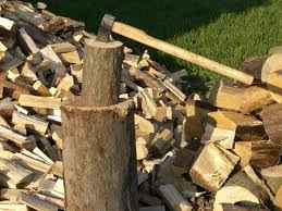 wood splitting
