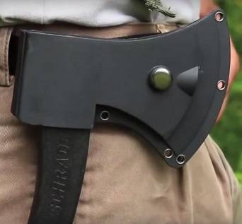 schrade scaxe3 survival axe sheath