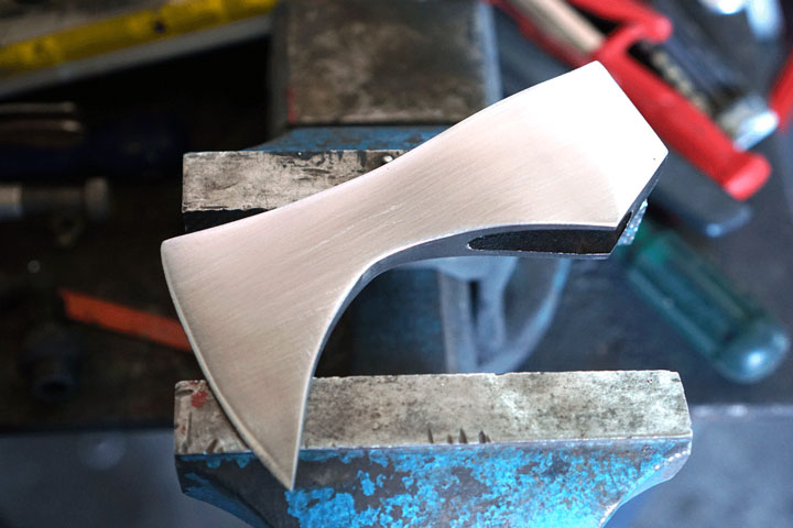 after-sanding-old-axe-head