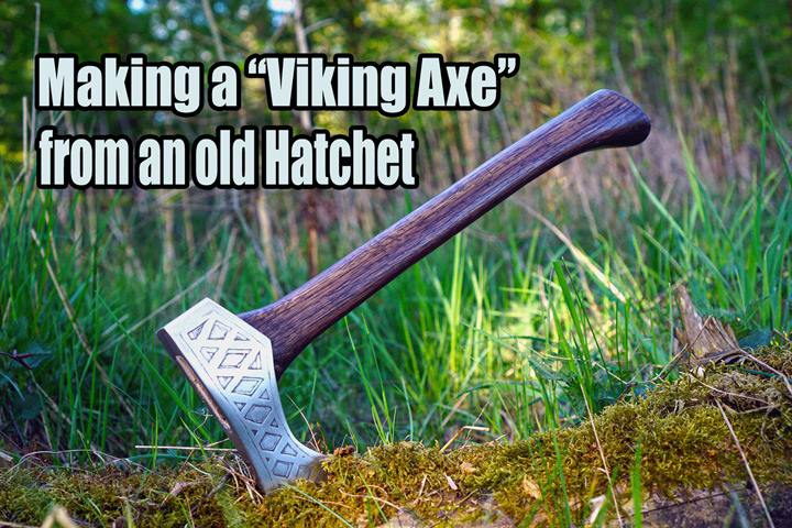 making-a-viking-axe-from-old-hatchet